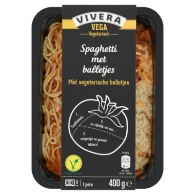 Vivera Spaghetti met balletjes