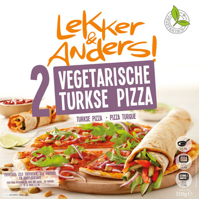 Lekker&Anders Turkse pizza vega