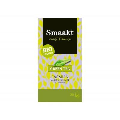 Smaakt Groene thee jasmijn