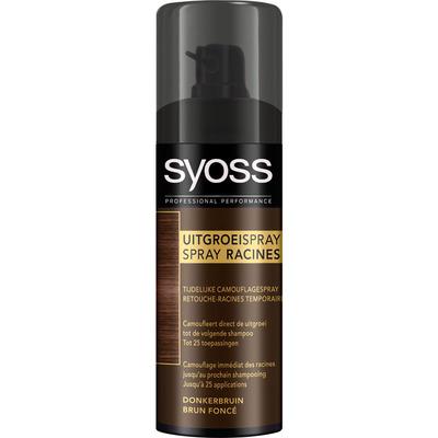 Syoss Uitgroei spray dark brown