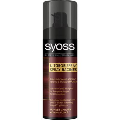 Syoss Uitgroei spray red brown
