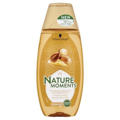 Nature Moments Shampoo Moroccan Argan Oil & Macadamia Oil