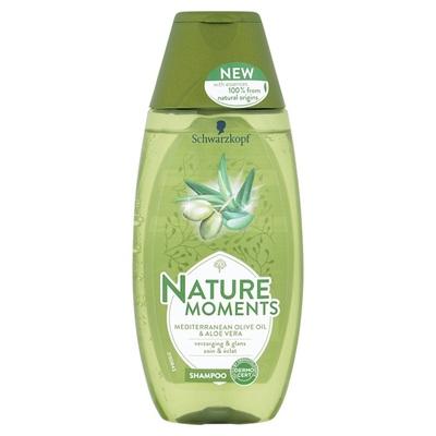 Nature Moments Shampoo Mediterranean Olive Oil & Aloë Vera