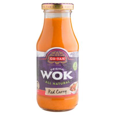 Go-Tan Woksaus red curry