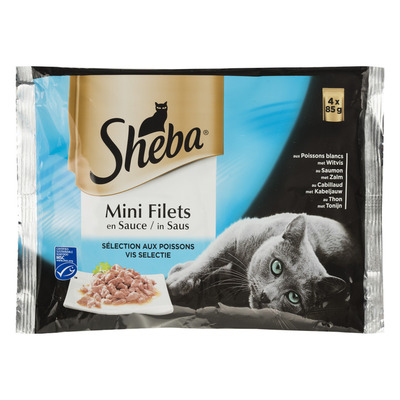 Sheba Mini filets in saus visselectie