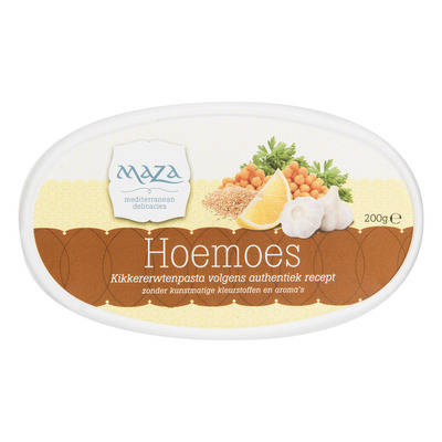 Maza Hoemoes vegetarisch