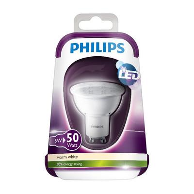 Philips Ledlamp warmwit 50W GU10 220-240V