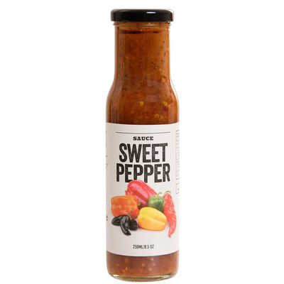 A Table Sweet pepper sauce