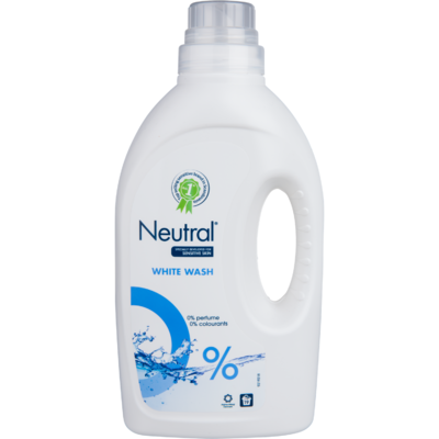 Neutral Vloeibaar wasmiddel wit 19 wasbeurten