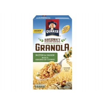 Quaker Havermout granola noten & zaden