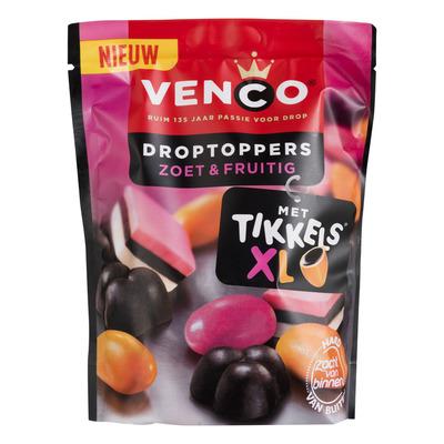 Venco Droptoppers zoet & fruitig