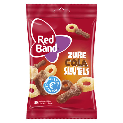 Red Band Zure cola sleutels