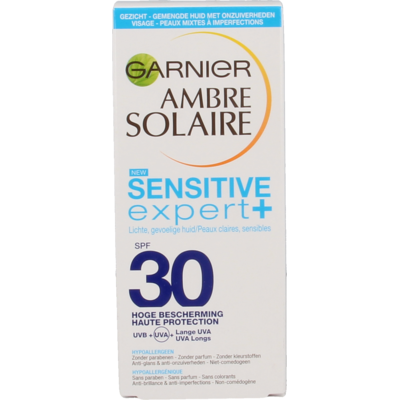 Ambre Solaire Sensitive SPF30 Anti-acne