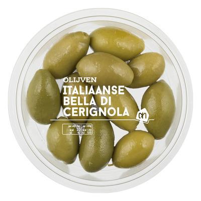 Huismerk Italiaanse bella di cerignola olijven