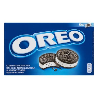 Oreo Ice cream with oreo biscuit pieces
