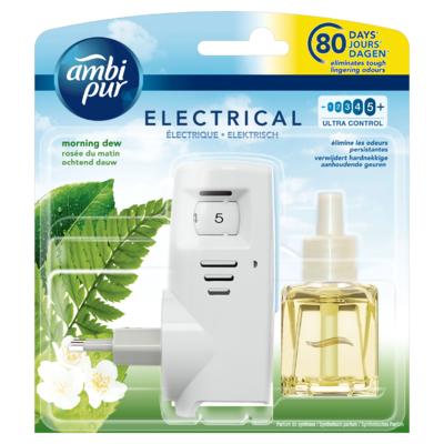 Ambi Pur Elektrische Luchtverfrisser Ochtend Dauw Startset 20 ml