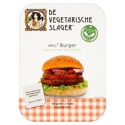 Vegetarische Slager Mc2 burger
