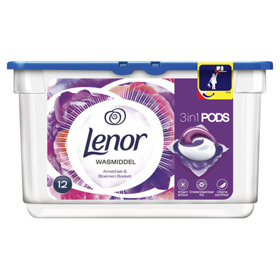 Lenor 3in1 pods amethist & bloemen