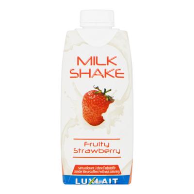 Luxlait Milk Shake Fruity Strawberry