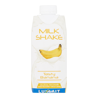 Luxlait Milk Shake Tasty Banana