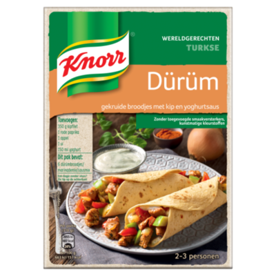 Knorr Wereldgerechten Turkse Dürüm