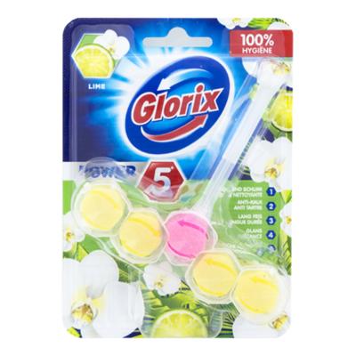 Glorix Toiletblok power lime