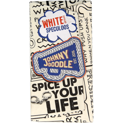 Johnny Doodle Chocolade White Speculoos
