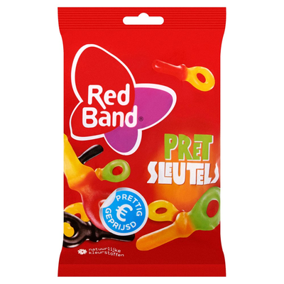 Red Band Pret Sleutels 180 g