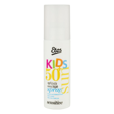 Etos Sun kids spray sensitive SPF 50+