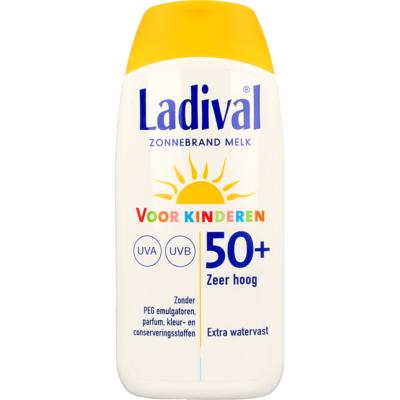 Ladival Zonnebrand Melk Voor Kinderen SPF 50+