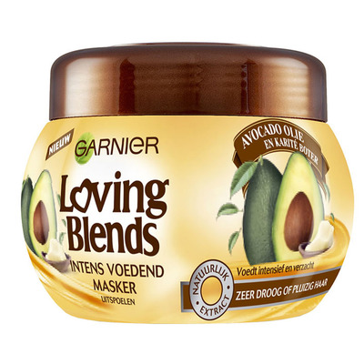 Garnier Loving Blends avocado karité mask