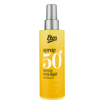 Huismerk Sun spray SPF 50+