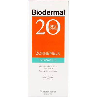 Biodermal Hydra Plus Zonnemelk SPF 20