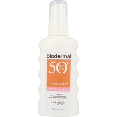 Biodermal Gevoelige Huid Zonnespray SPF 50+