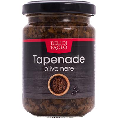 Deli Di Paolo Tapenade zwarte olijven