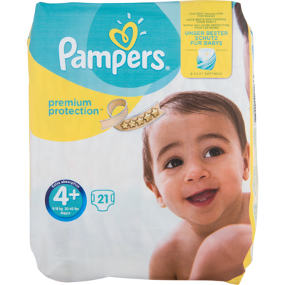 Pampers Premium protection maxi+