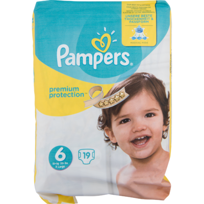 Pampers Premium protection Xl