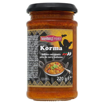 Bombay Rose Korma Curry Pasta 220 g