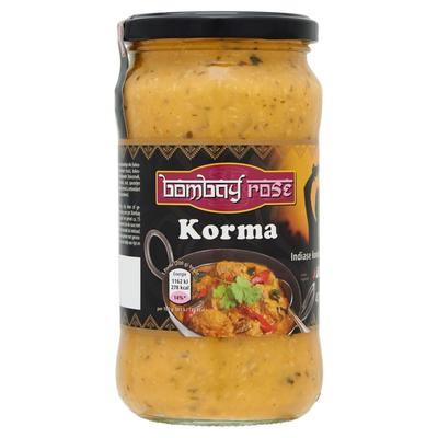 Bombay Rose Korma Saus 470 g