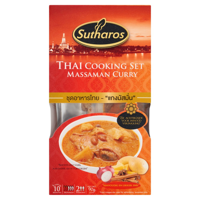 Sutharos Thai Cooking Set Massaman Curry 90 g