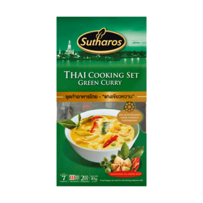 Sutharos Thai Cooking Set Green Curry