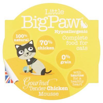 Little Big Paw Tender Chicken Mousse Hypoallergenic 85 g