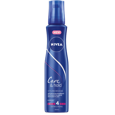 Nivea Care & hold styling mousse