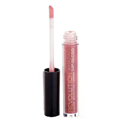 Revolution Amazing lipgloss nude shimmer