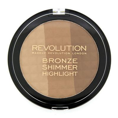 Revolution Ultra bronze shimmer & highlighter
