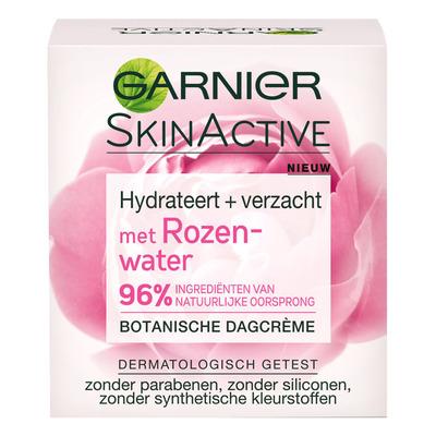 Garnier Skin active botanical moisturizer roze