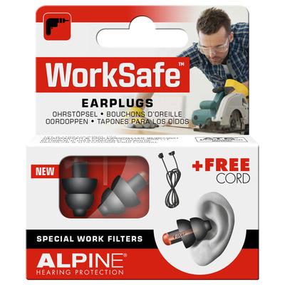 Alpine Worksafe oordoppen voor doe het zelf