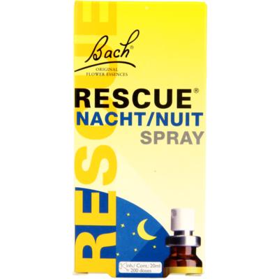 Bach Rescue druppels nacht