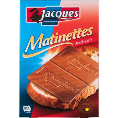 Jacques Chocoladeplakken melk
