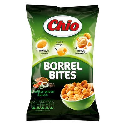 Chio Borrel bites mediterranean spices